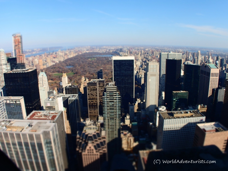 Camera Rockefeller Center : Photo essay: top of the rock at rockefeller center in new york