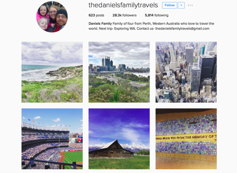 Traveling Families On Instagram