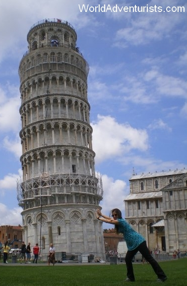 Pushing Down The Leaning Tower Of Pisa