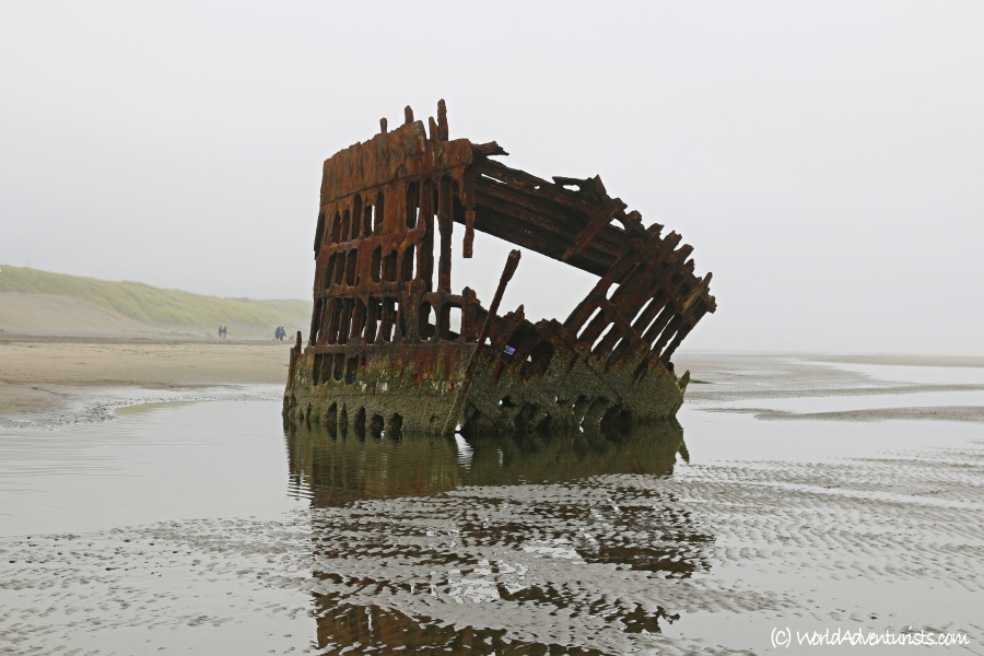 Wreck of the Peter Iredale Shipwreck On The Oregon Coast