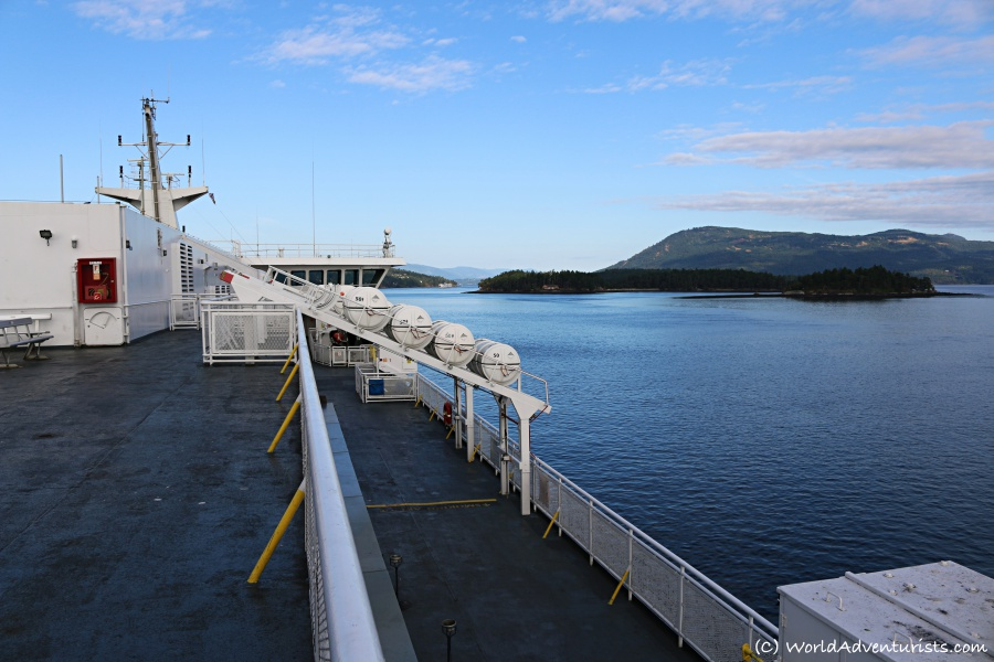 Ferry Service Within Beautiful British Columbia
