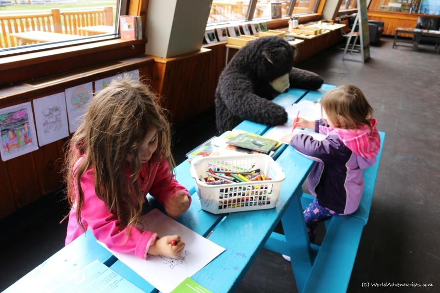 Kids enjoying some learning at Sunshine Meadows