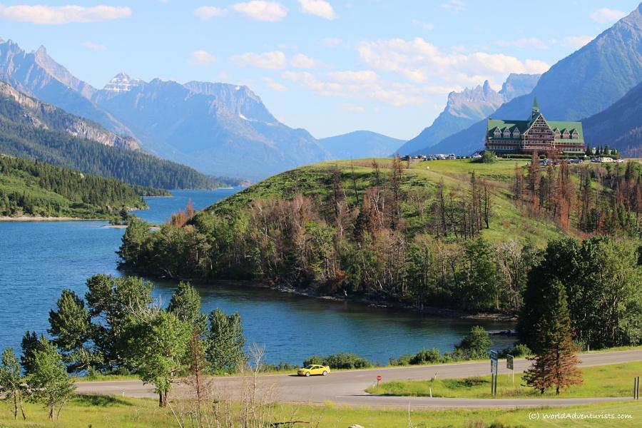Waterton Lakes National Park - Prince Of Wales Hotel