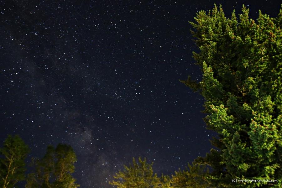 Waterton Lakes National Park - Night sky