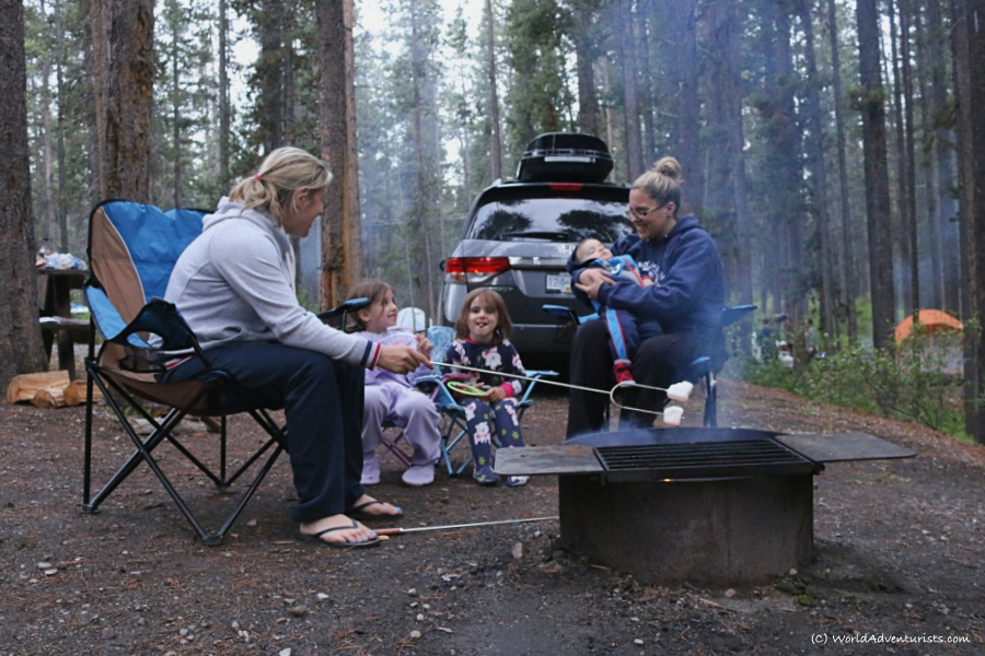 Banff camping