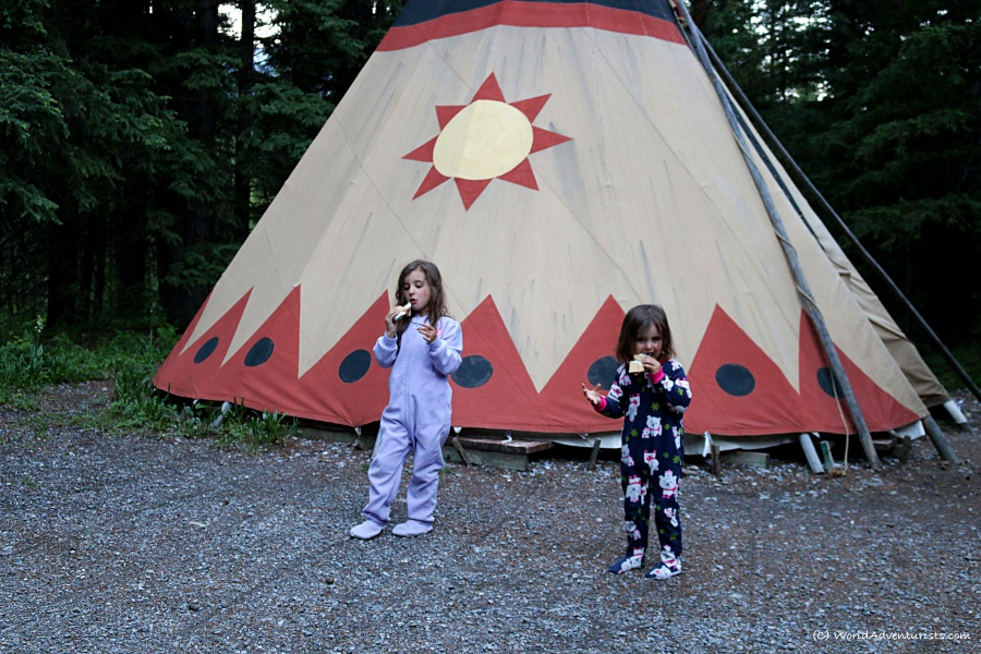 Tipi at Sundance Lodges
