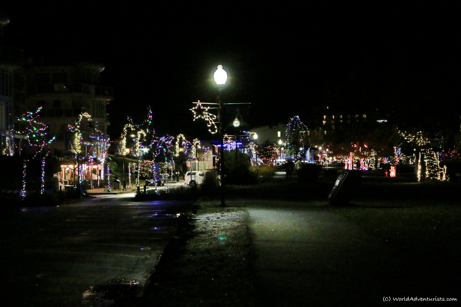 Harrison Hot Springs At Christmas