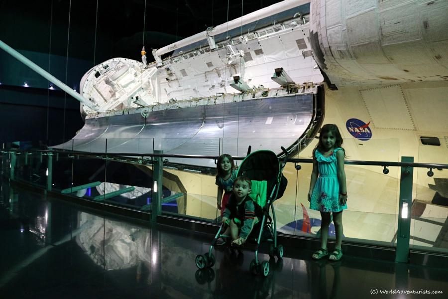 Children at NASA's Kennedy Space Center