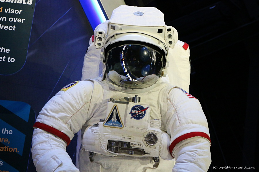 Astronaut suit at NASA's Kennedy Space Center