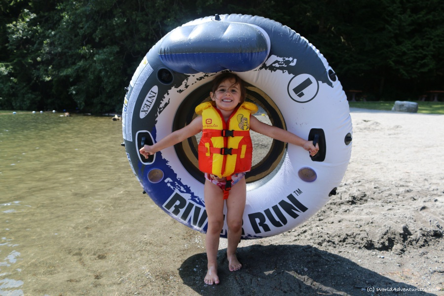 Fun at Alice Lake