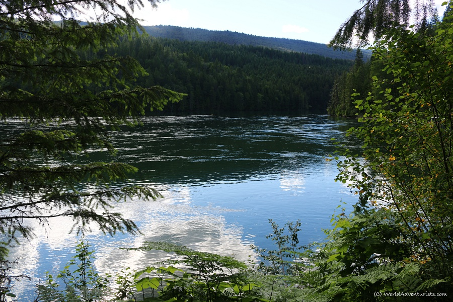 Scenery at Wells Gray Provincial park