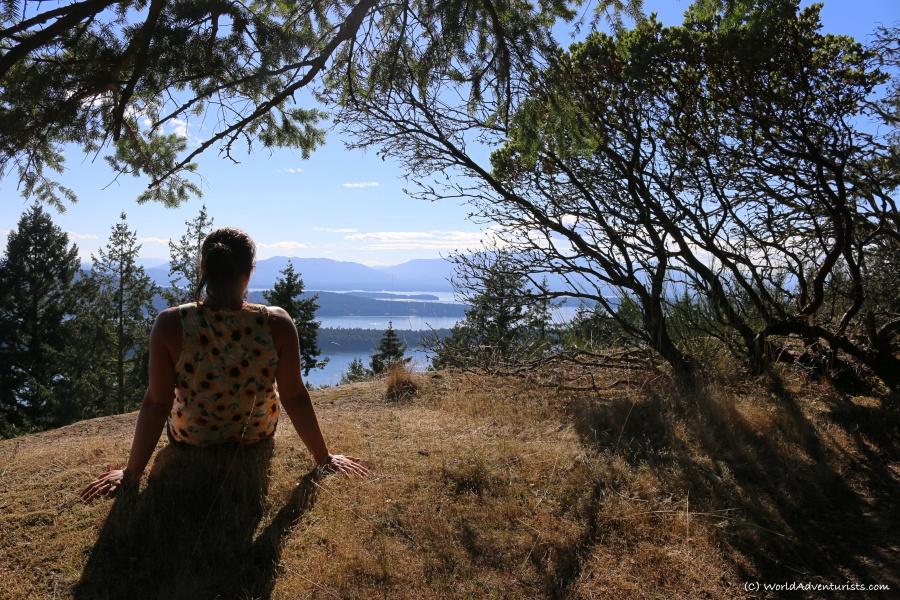 Views at Bodega Ridge Provincial Park on Galiano Island