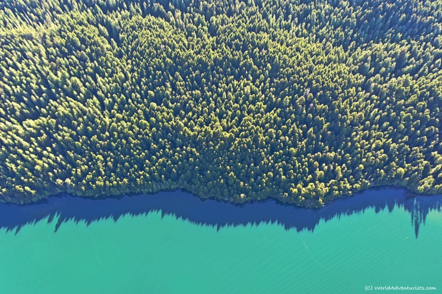 Clearwater Lake at Wells Gray Provincial Park