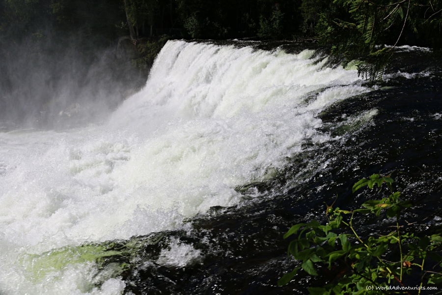 Dawson Falls at Wells Gray Provincial park