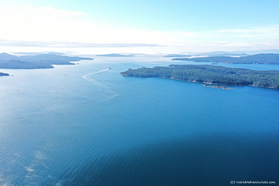 Views of the southern gulf islands