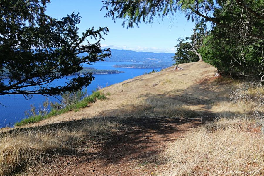 Mount Galiano views