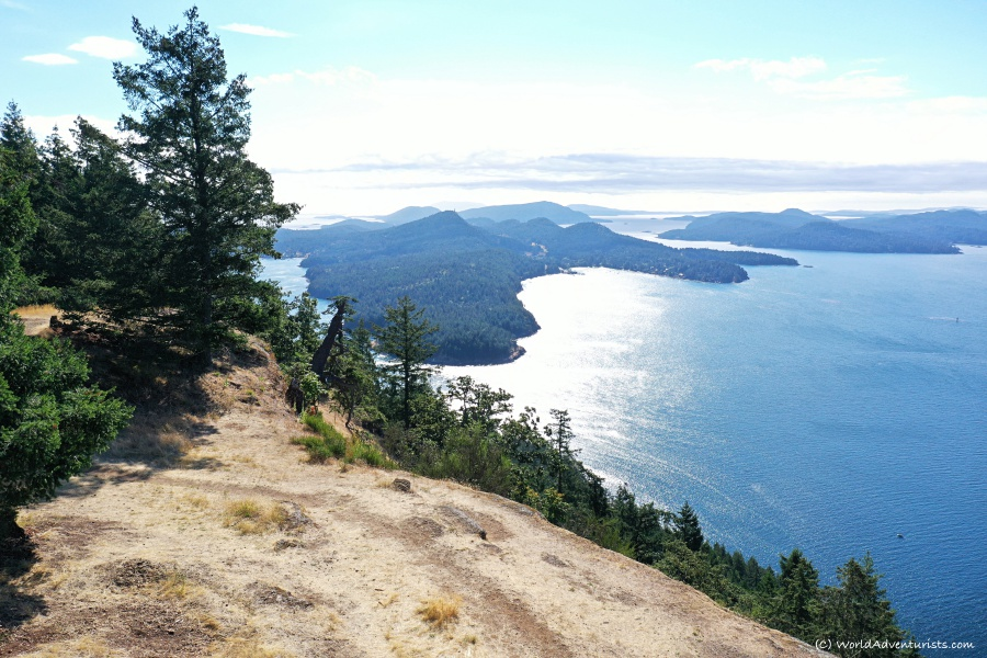 Views from Mount Galiano Trail