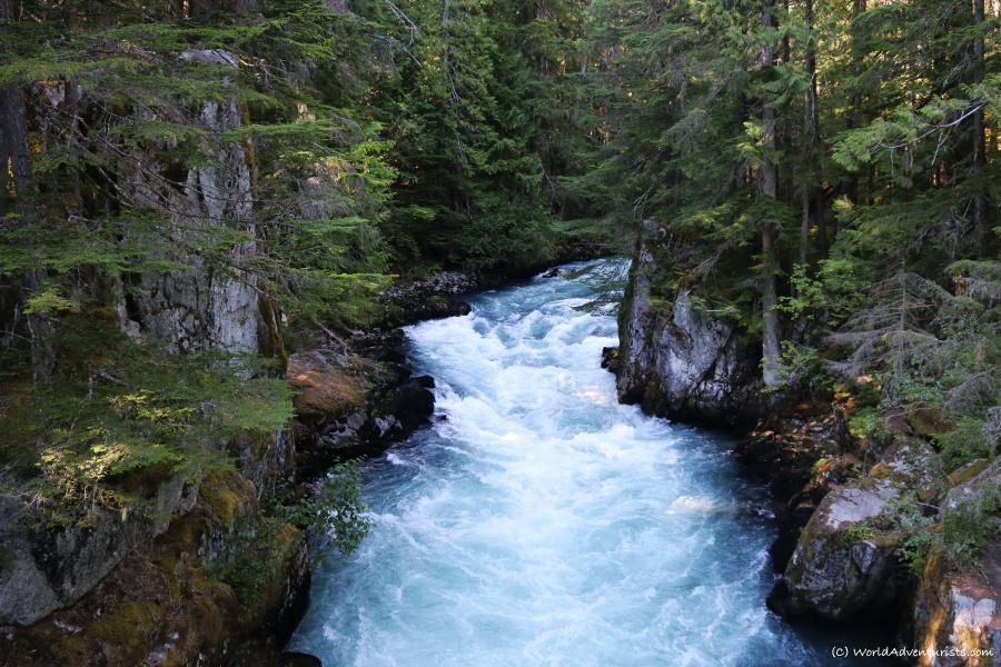 Cheakamus River in Whistler