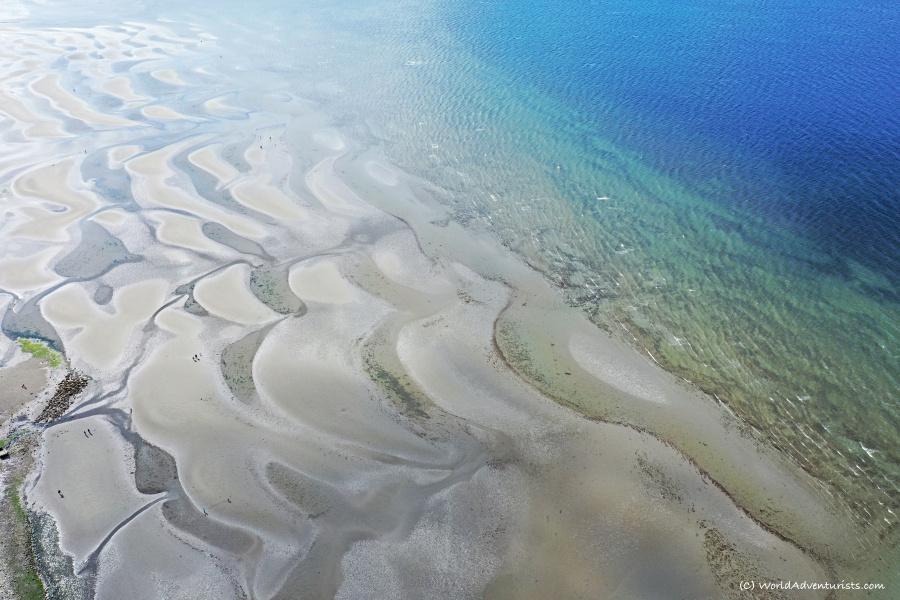 Aerial views from White Rock beach