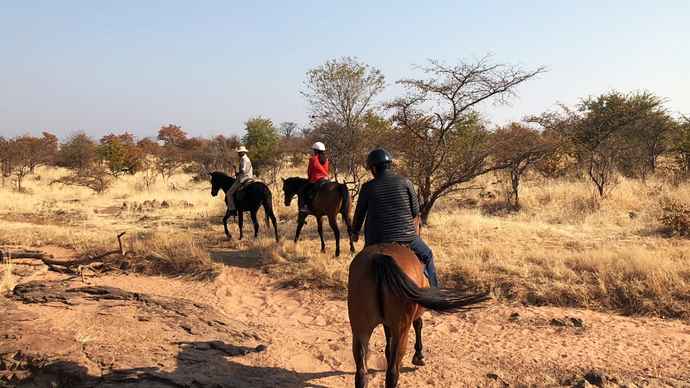 horseback safari in Zambia