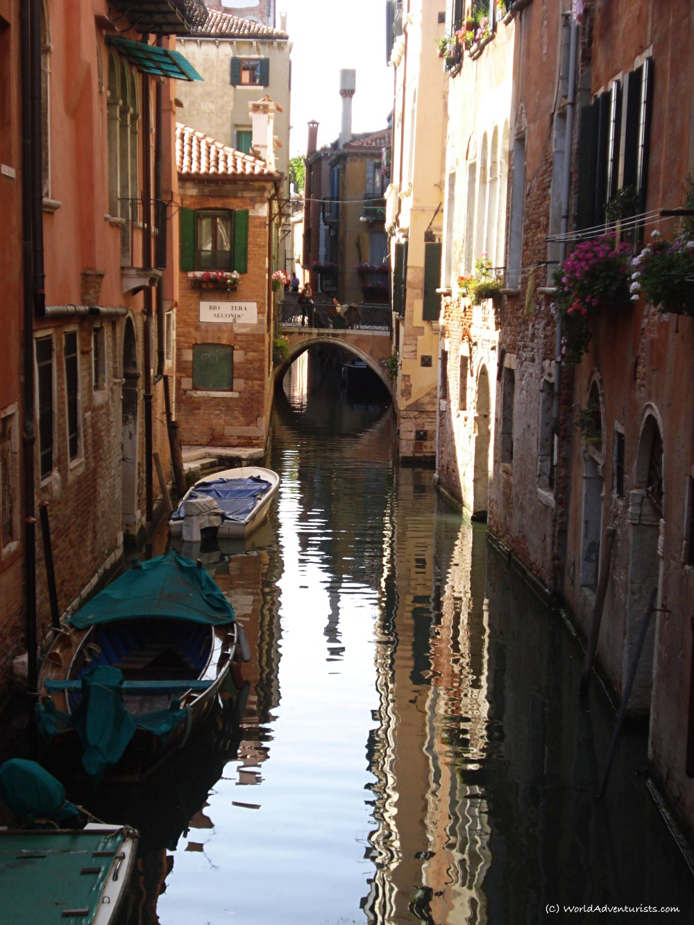 Venice back alley canal