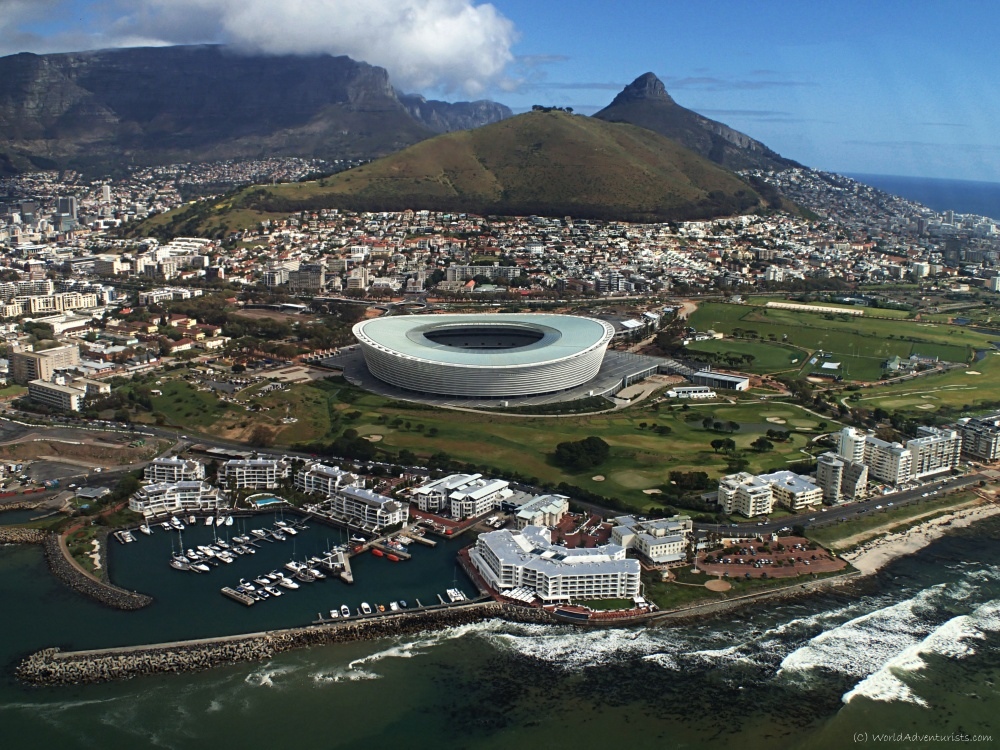 Things to do in South Africa : Helicopter ride over Cape Town