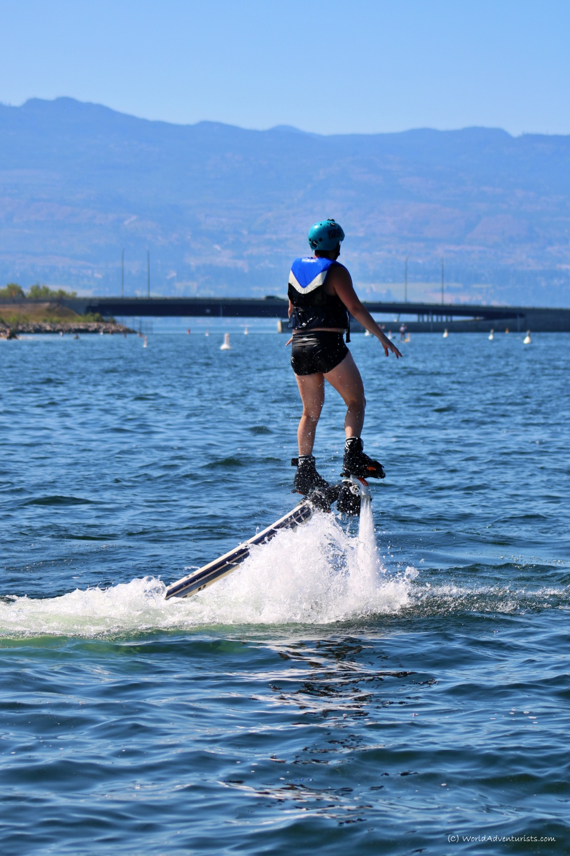 Flyboarding in Kelowna